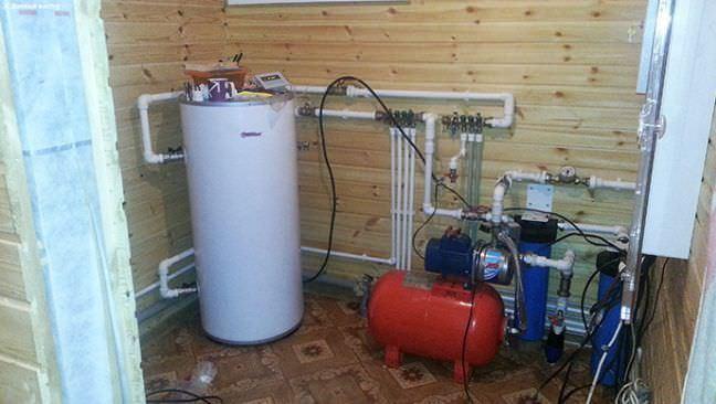 Подводка воды в частном доме